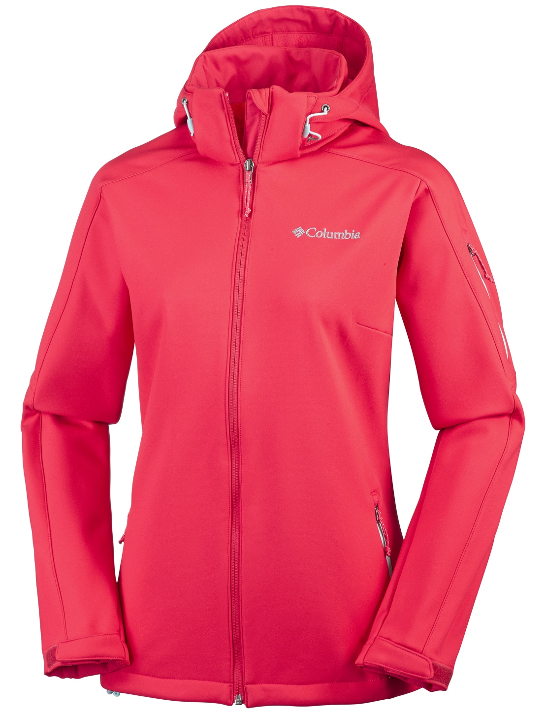 Columbia Women's Cascade Ridge Jacket Red Camellia, Spray-30