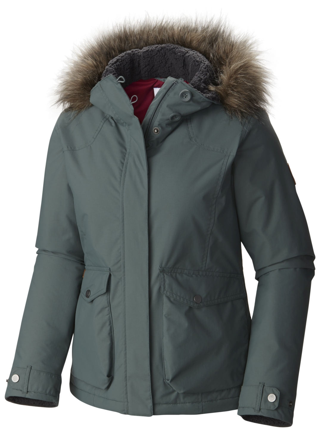 Columbia Women's Grandeur Peak Jacket Pond-30