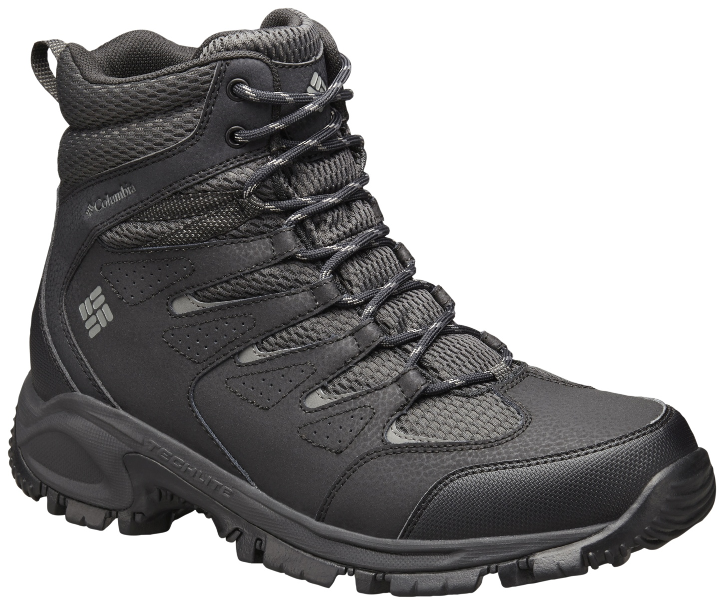 Columbia Men's Gunnison Winter Shoes Shark, Charcoal-30