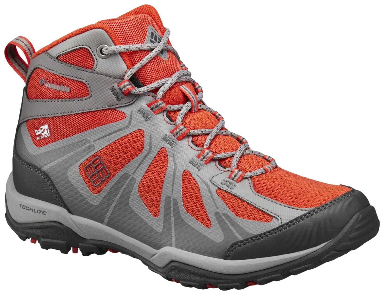 Columbia Women's Peakfreak XCRSN II XCEL Mid Outdry® Shoes Spicy, Dark Grey-30