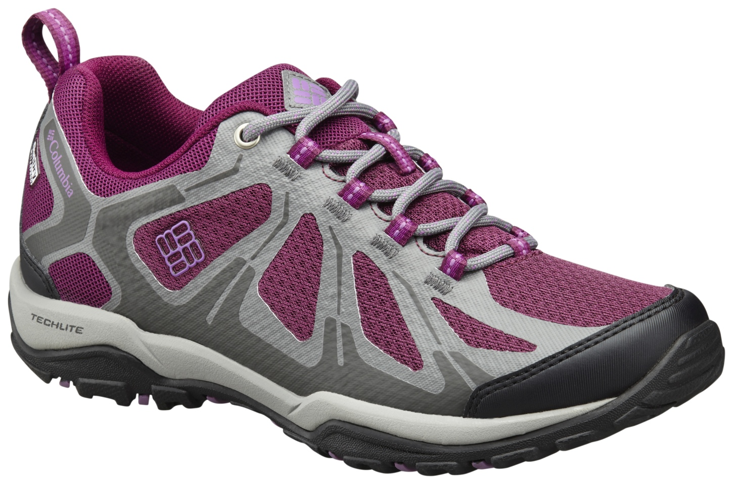 Columbia Women's Peakfreak XCRSN II XCEL Low Outdry® Shoes Dark Raspberry, Northern Light-30