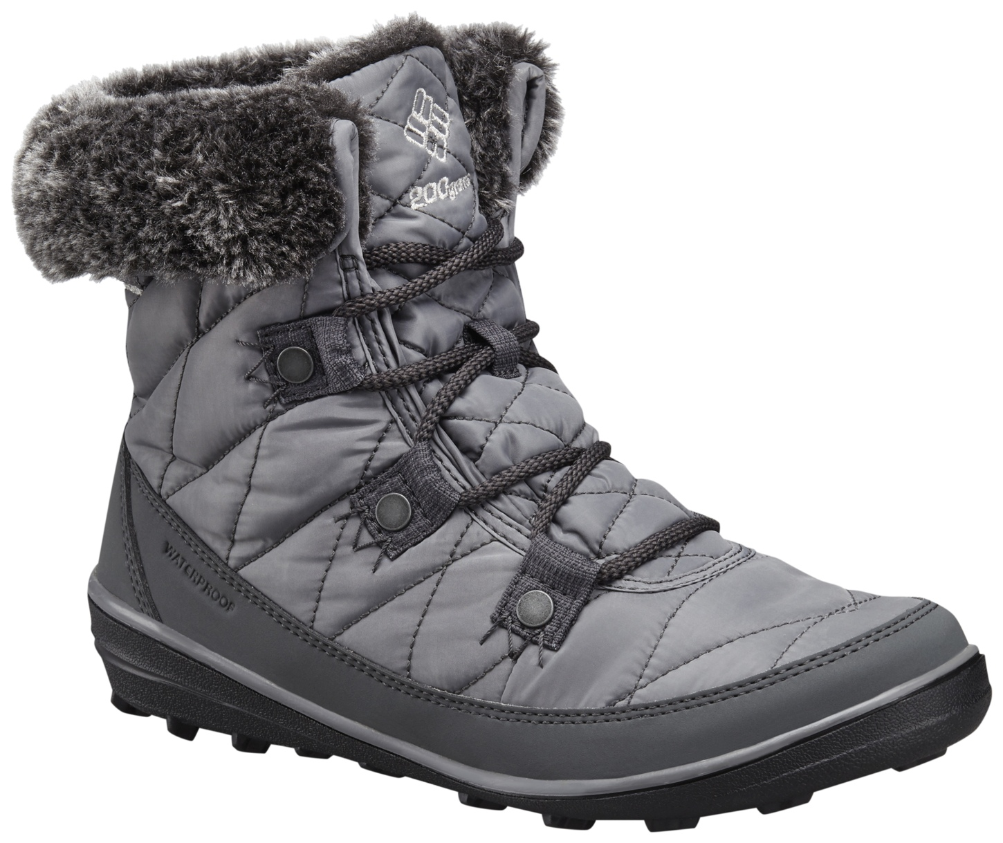 Columbia Heavenly Shorty Omni-heat Winterstiefel für Damen Quarry, Dove-30