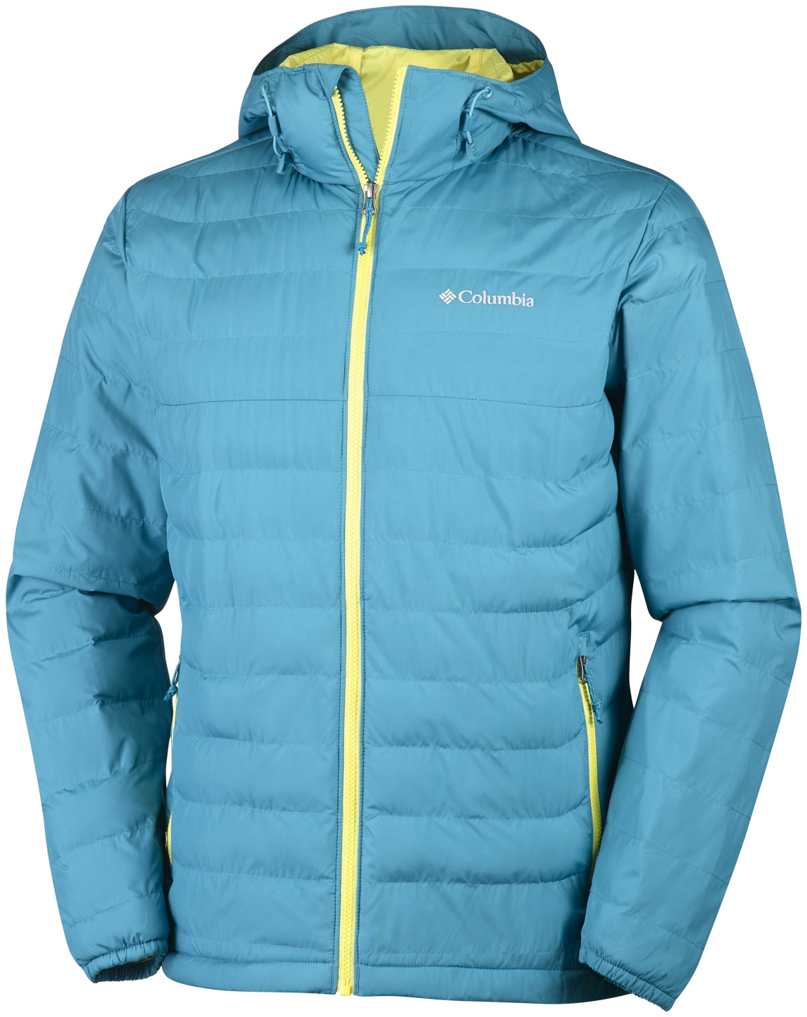 Columbia Men's Powder Lite Hooded Jacket Deep Marine-30