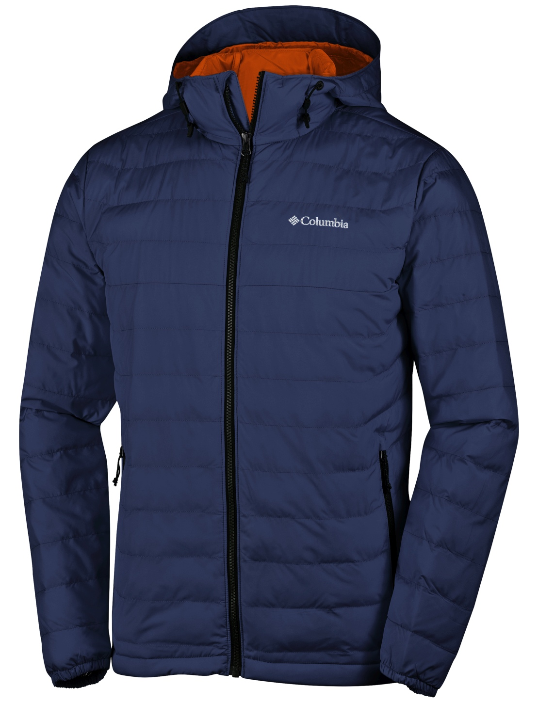 Columbia Men's Powder Lite Hooded Jacket Collegiate Navy-30