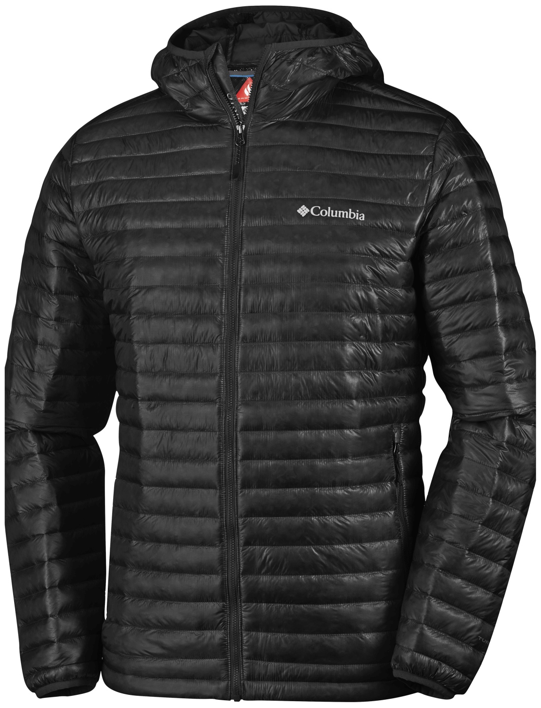 Columbia Men's Platinum Plus 740 TurboDown Hooded Jacket Black-30