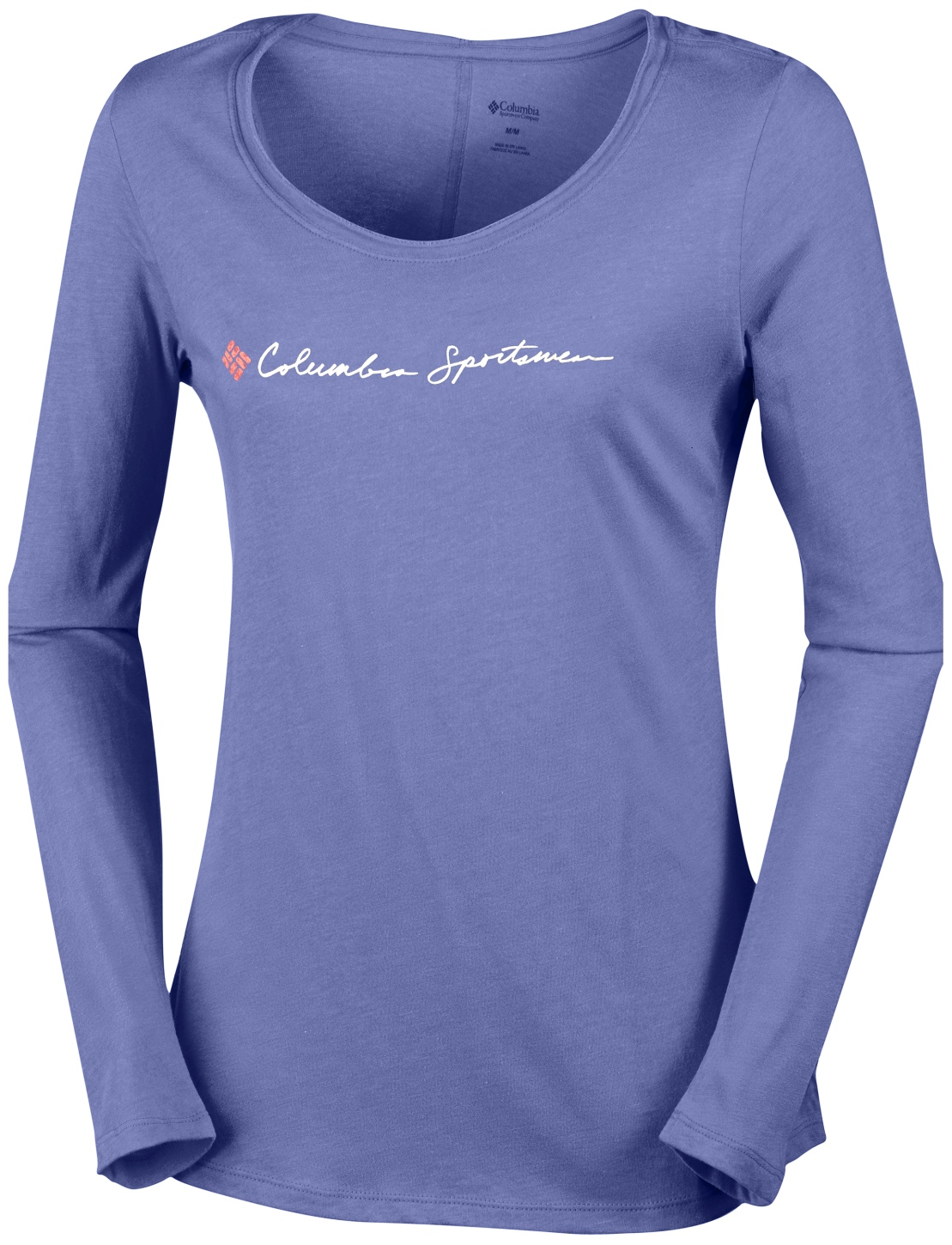 Columbia Women's CSC Script Logo Long Sleeve T-shirt Bluebell-30