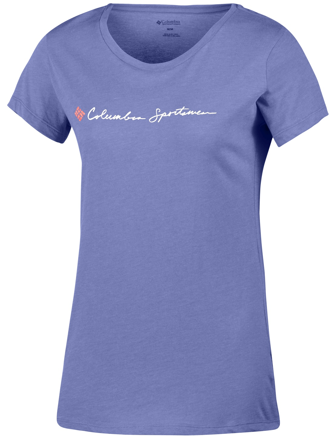 Columbia Women's CSC Script Logo Short Sleeve T-shirt Bluebell-30