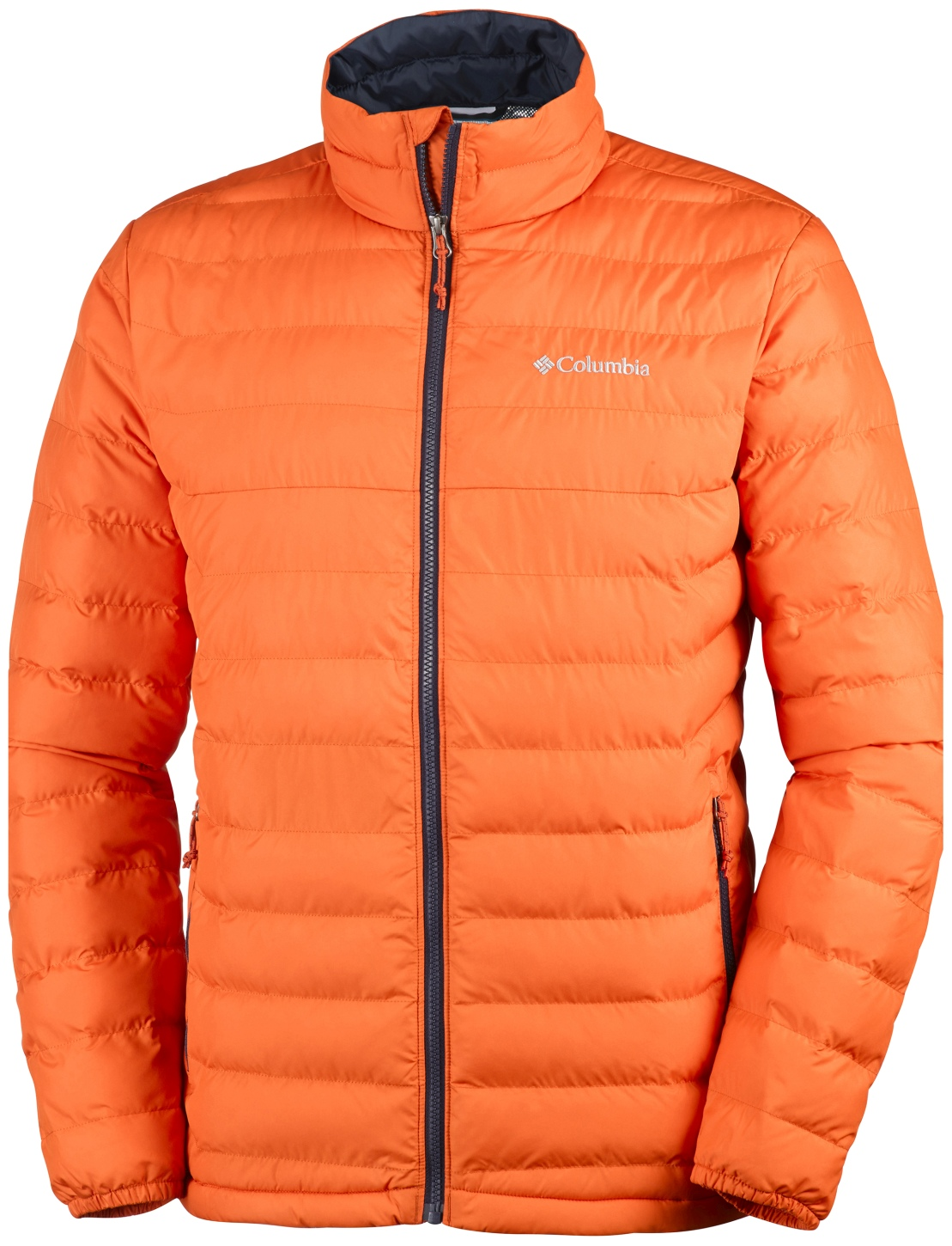 Columbia Men's Powder Lite Hooded Jacket Tangy Orange-30