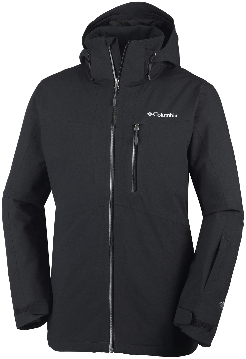 Columbia Men's Wild Card Ski Jacket Black-30