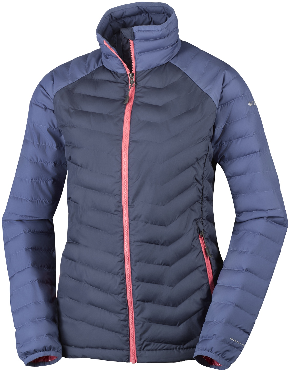 Columbia Women's Powder Lite Jacket Nocturnal, Bluebell-30