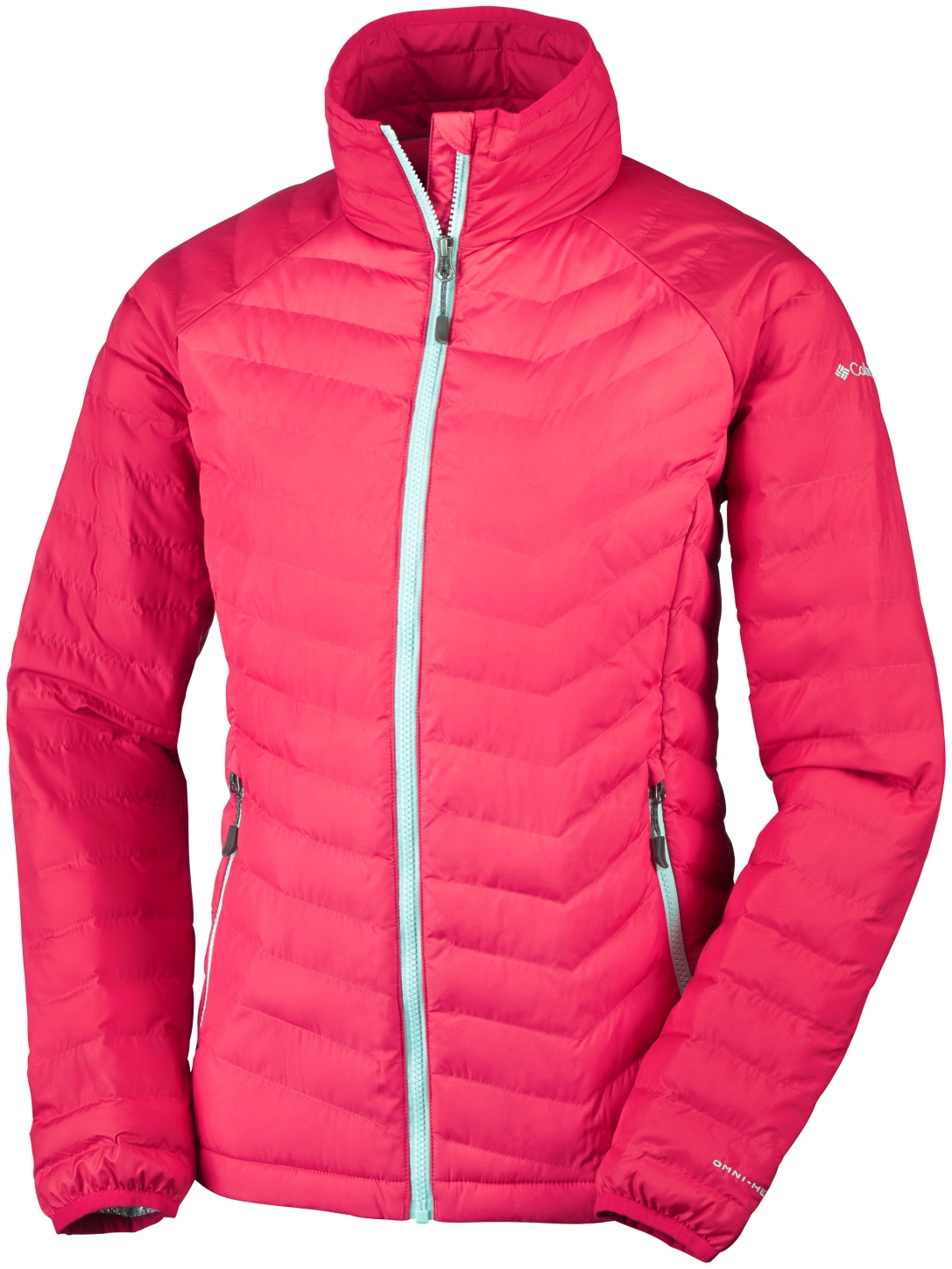 Columbia Women's Powder Lite Jacket Red Camellia, Red Lily-30