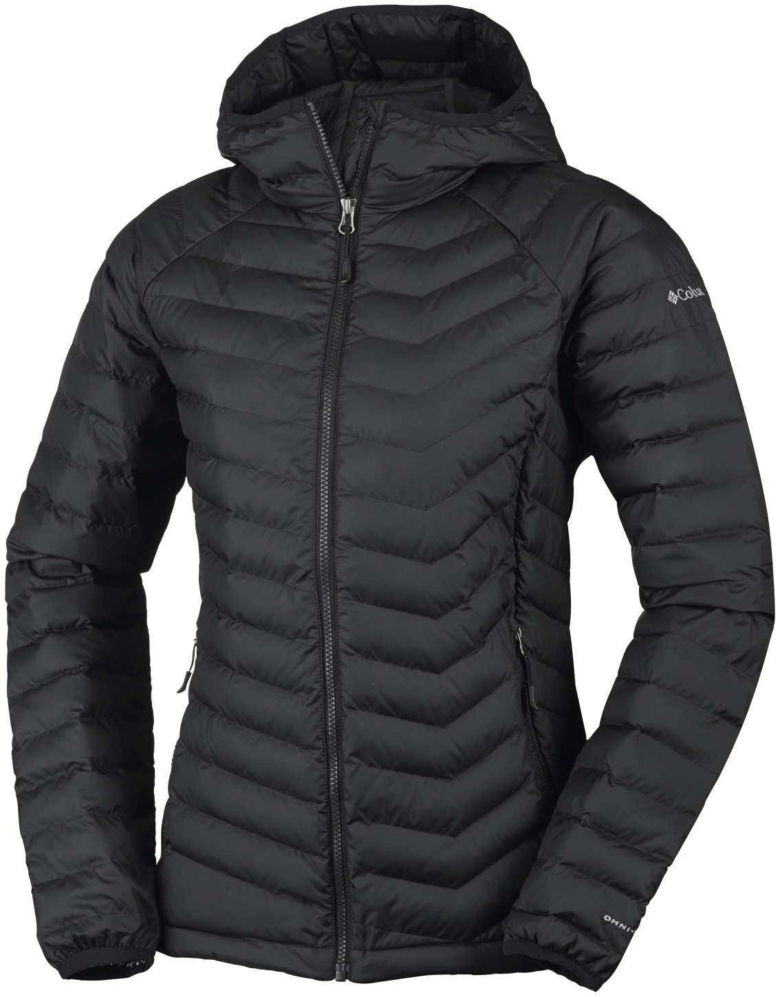Columbia Women's Powder Lite Hooded Jacket Black-30