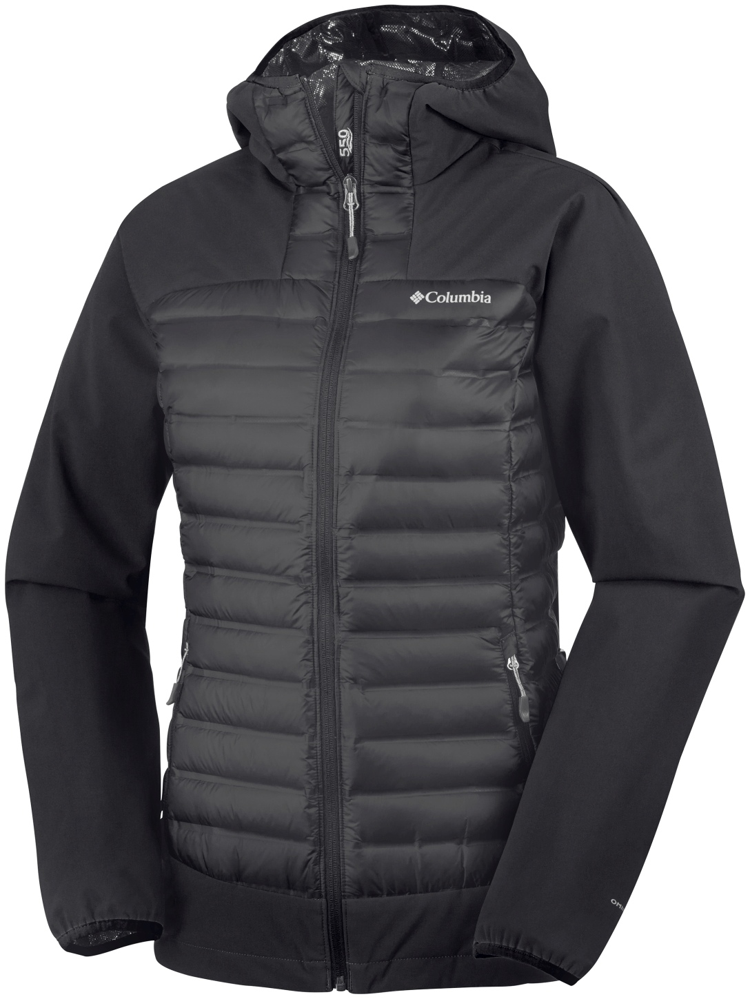 Columbia Women's Dutch Hollow Hybrid Jacket Black-30
