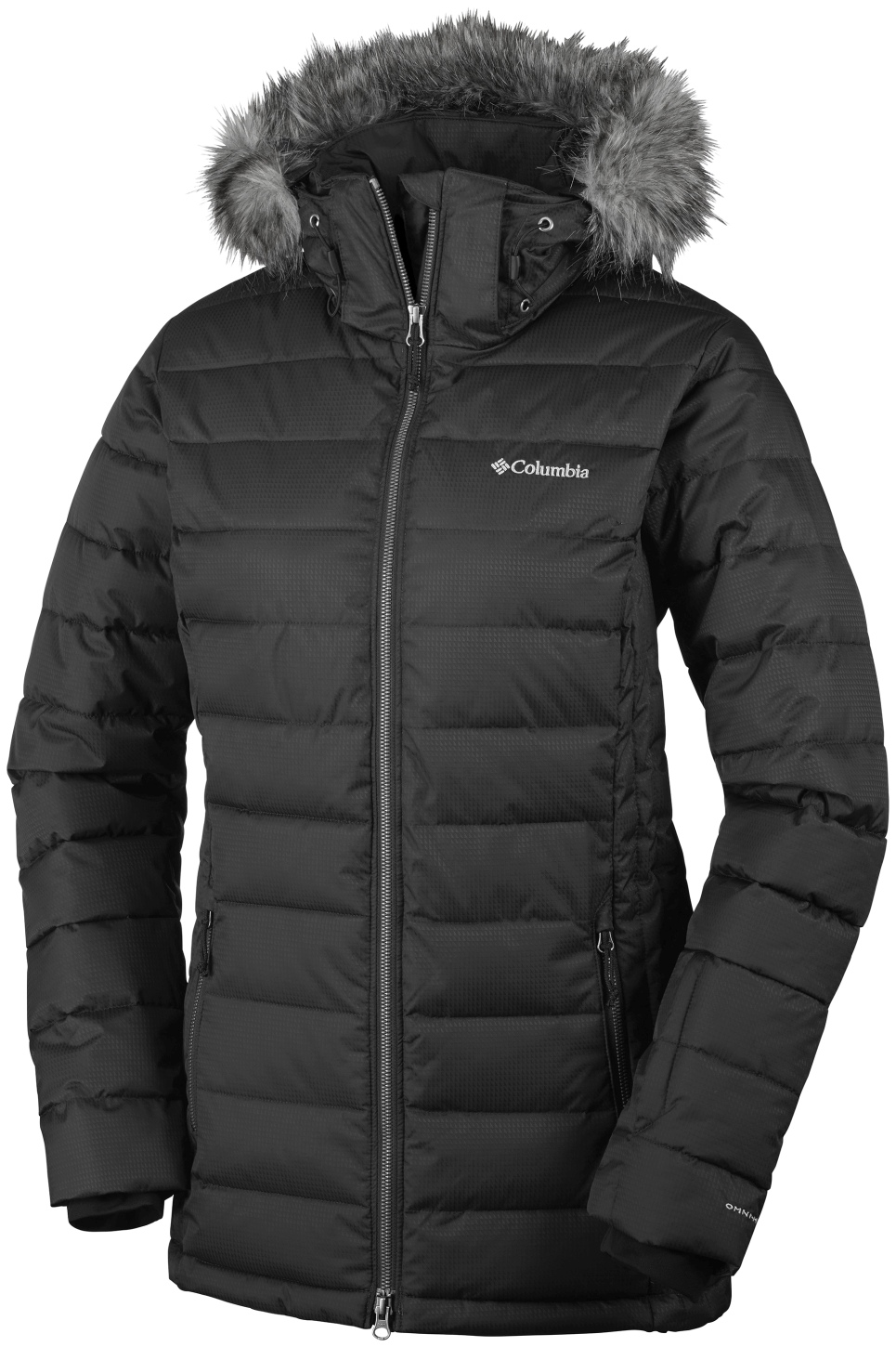 Columbia Women's Ponderay Ski Jacket Black-30