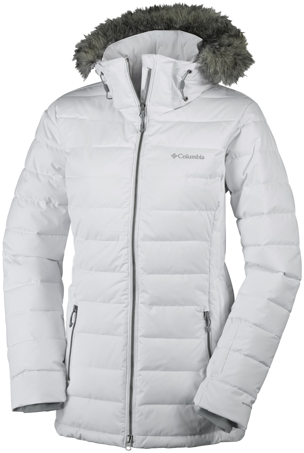 Columbia Women's Ponderay Ski Jacket White-30