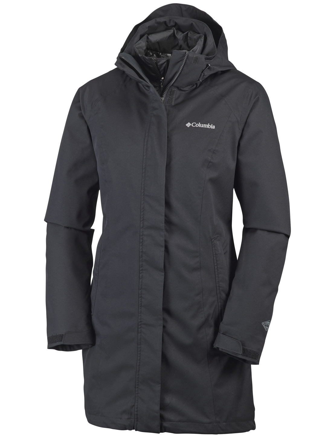 Columbia Women's Salcantay Long Interchange Jacket Black-30