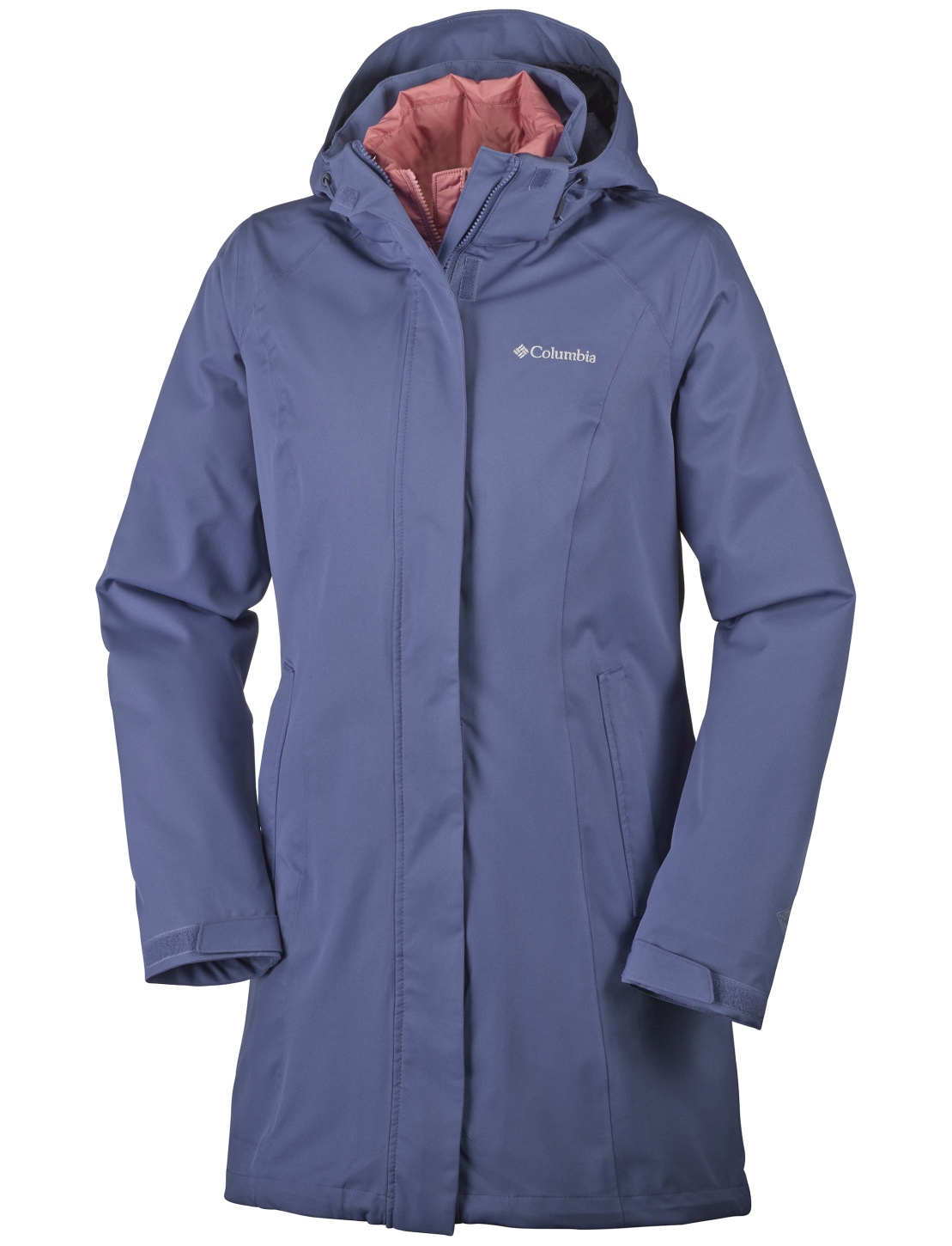 Columbia Women's Salcantay Long Interchange Jacket Bluebell-30