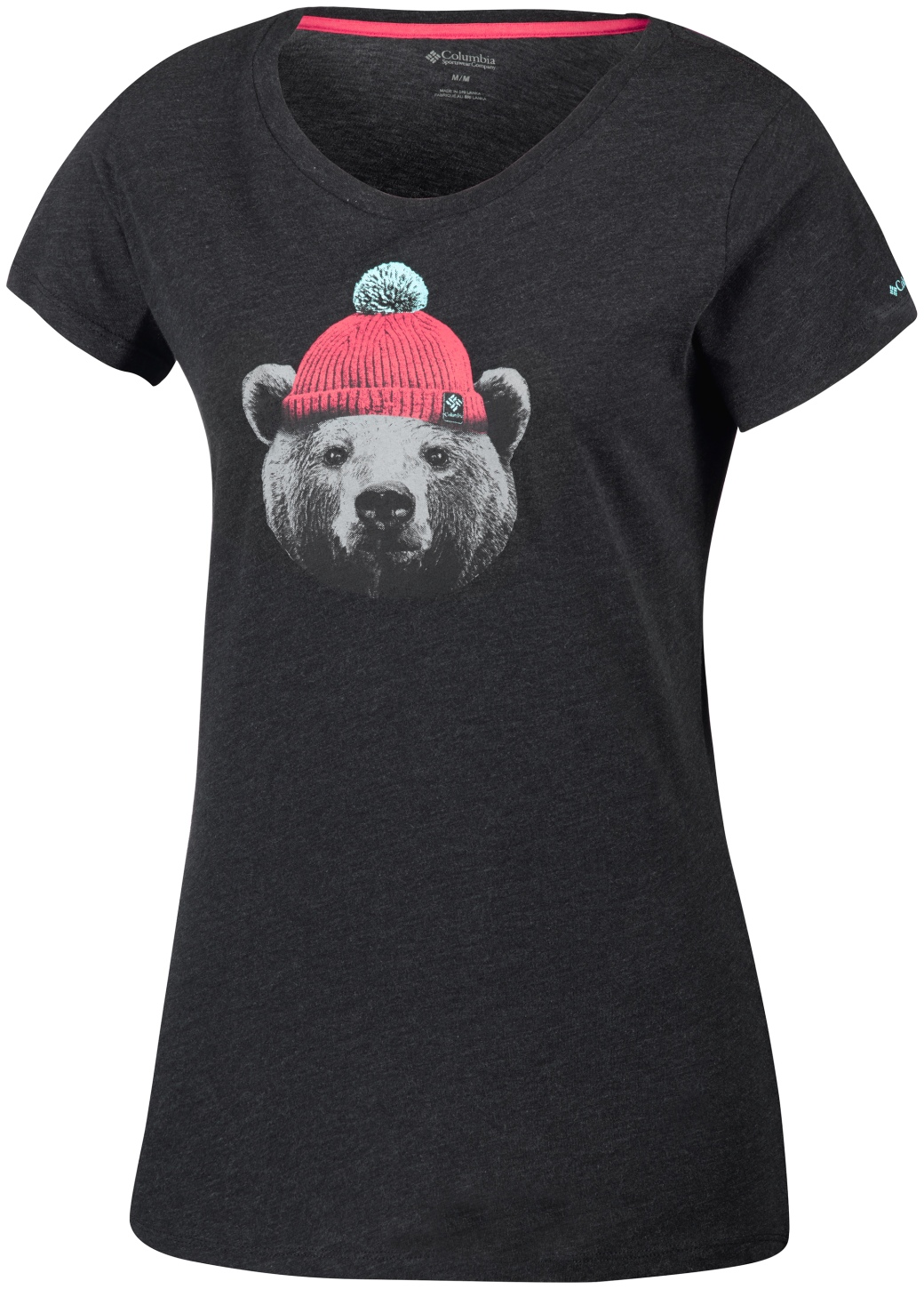 Columbia Women's UnBearable T-Shirt Charcoal Heather-30