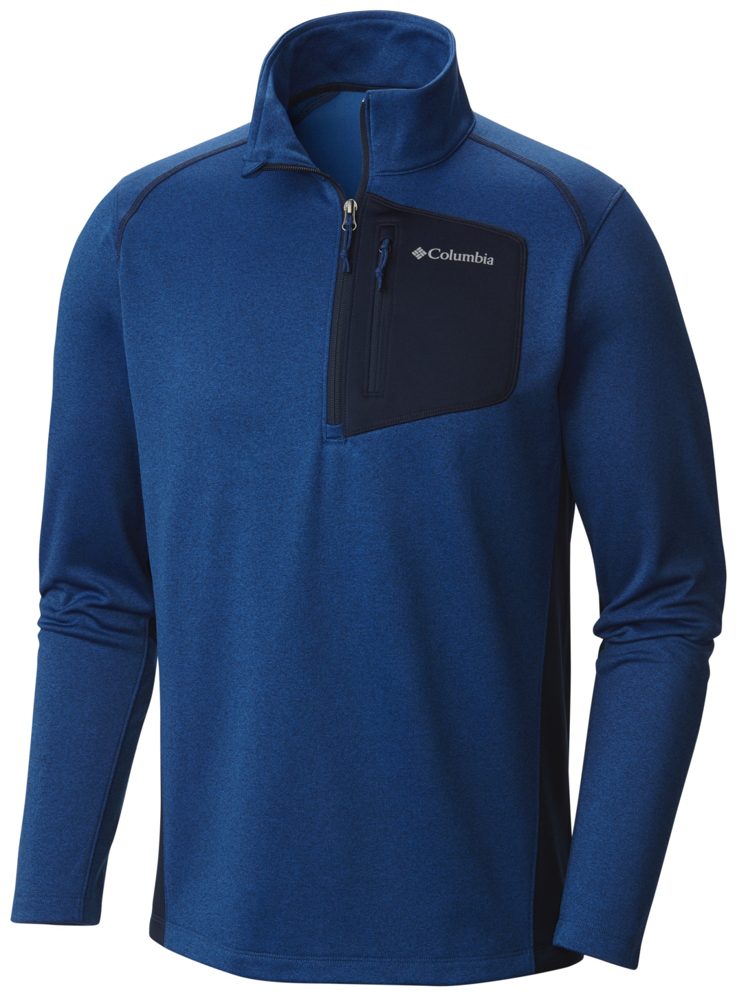 Columbia Men's Jackson Creek II Half Zip Marine Blue Heather-30