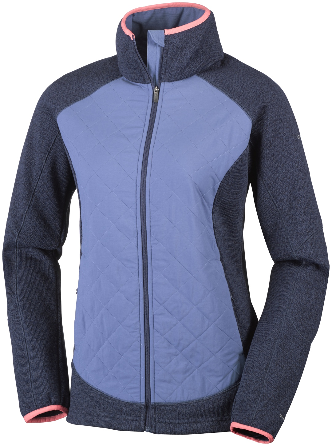 Columbia Women's Altitude Aspect Hybrid Jacket Nocturnal Heather-30