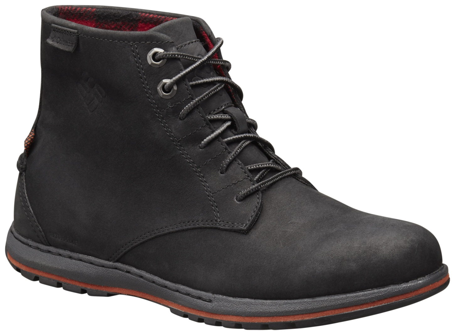 Columbia Men's Davenport Six Waterproof Boots Black-30