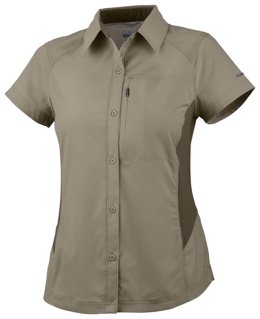 Columbia Silver Ridge Short Sleeve Shirt Fossil-30