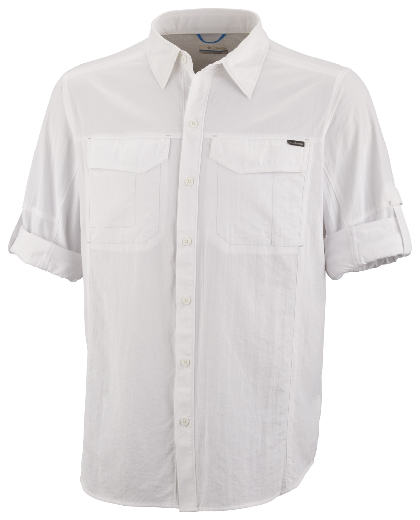 Columbia Silver Ridge Long Sleeve Shirt White-30