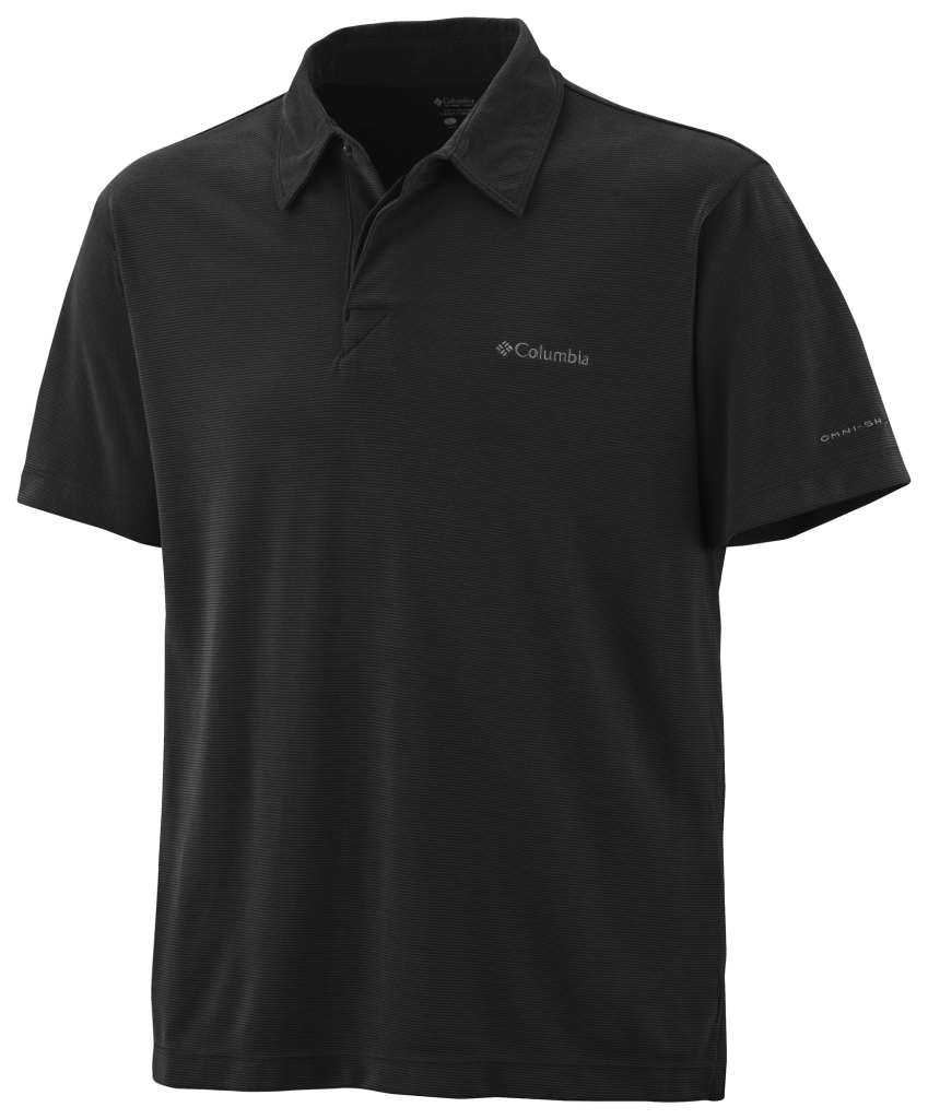 Columbia Sun Ridge Polo Black-30