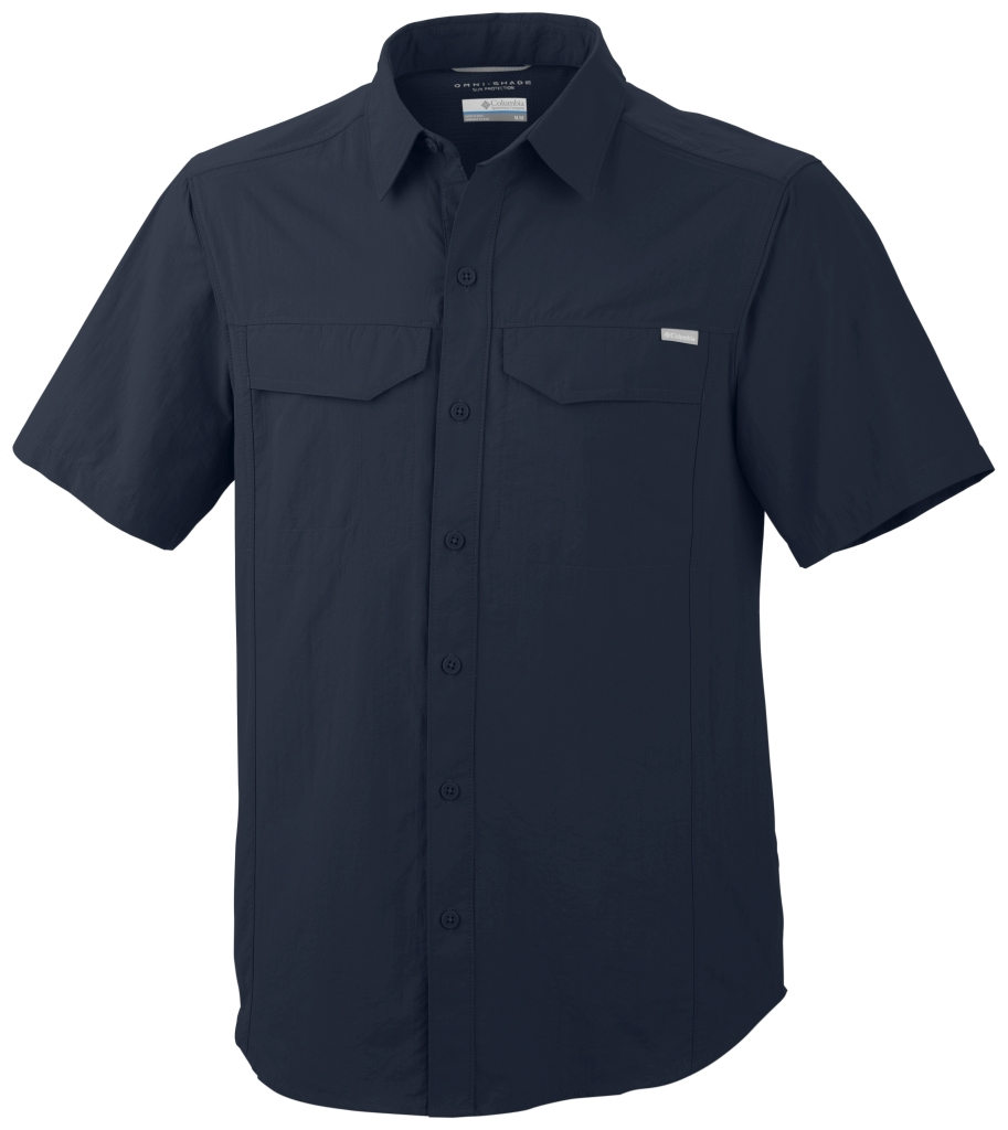 Columbia Silver Ridge Short Sleeve Shirt Abyss-30
