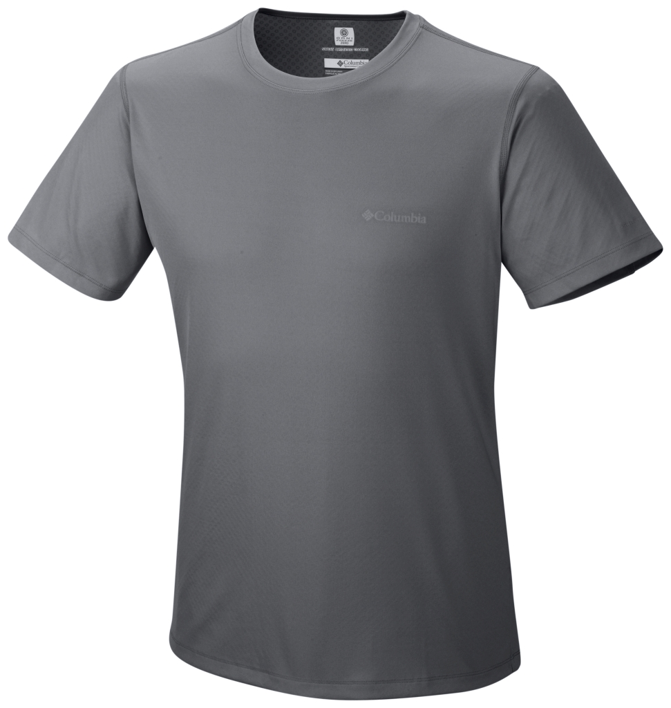 Columbia Zero Rules Short Sleeve Shirt Graphite-30