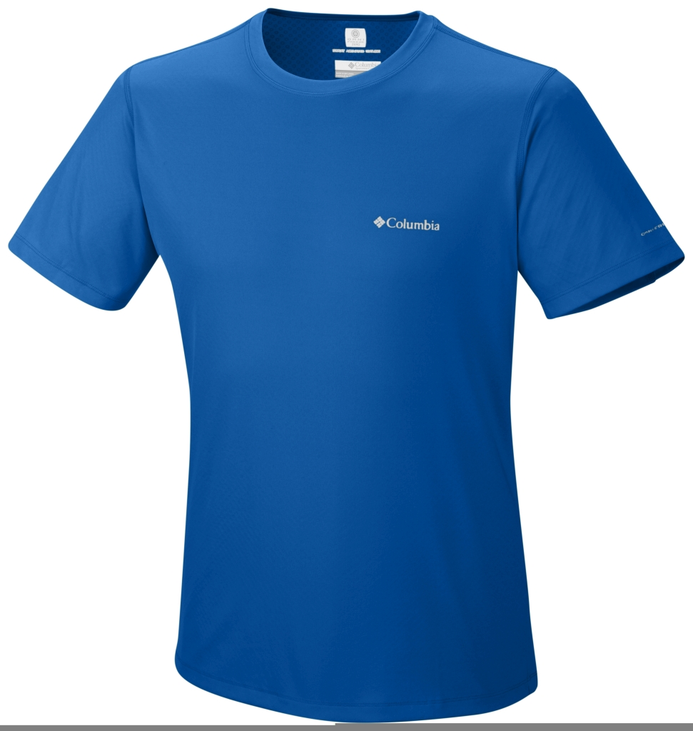 Columbia Zero Rules Short Sleeve Shirt Hyper Blue-30