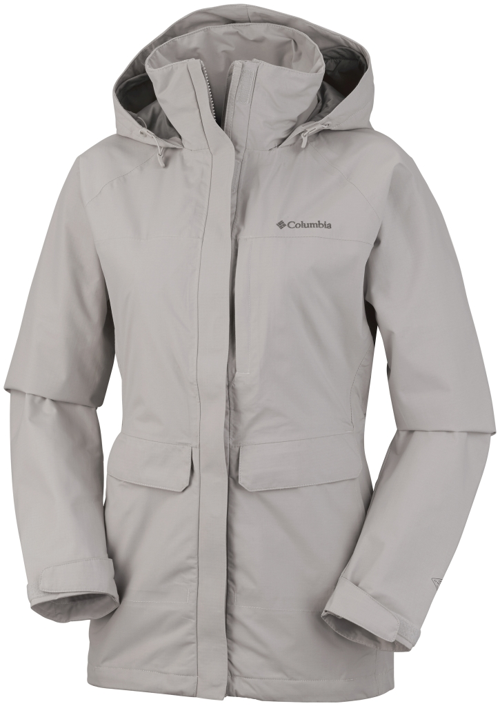 Columbia Longer Miles Jacke Für Damen Flint Grey-30