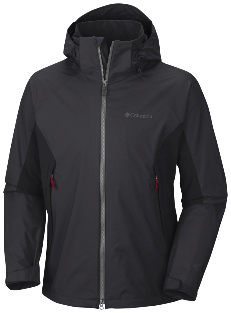 Columbia On The Mount Stretch-Jacke Für Herren Black-30