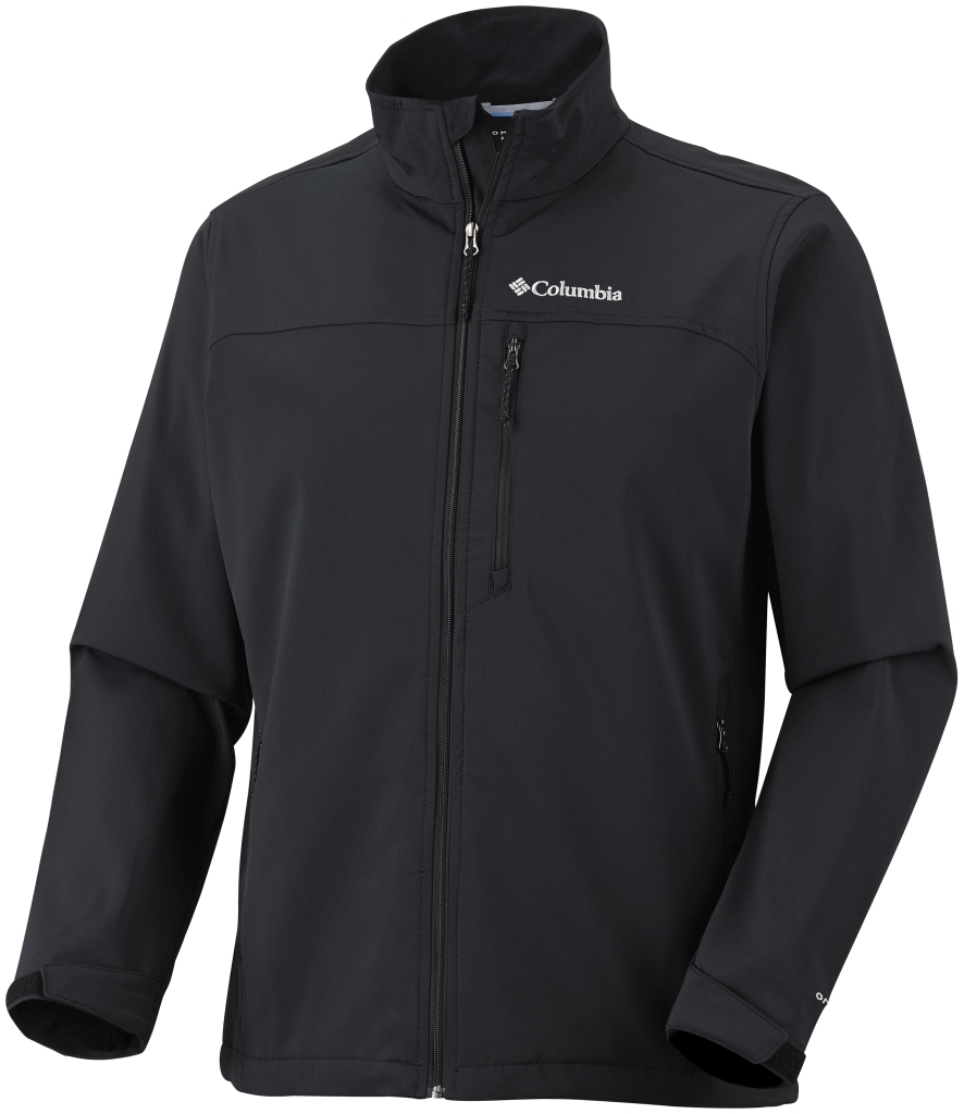 Columbia Jet Stream II Softshell Jacket Black-30