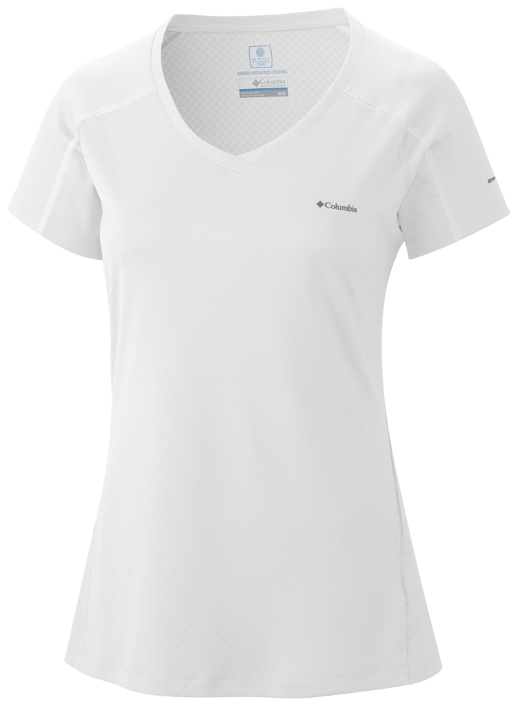 Columbia Zero Rules Short Sleeve Shirt White-30