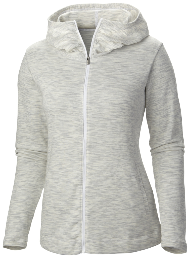 Columbia Outerspaced Full Zip Hoodie White-30