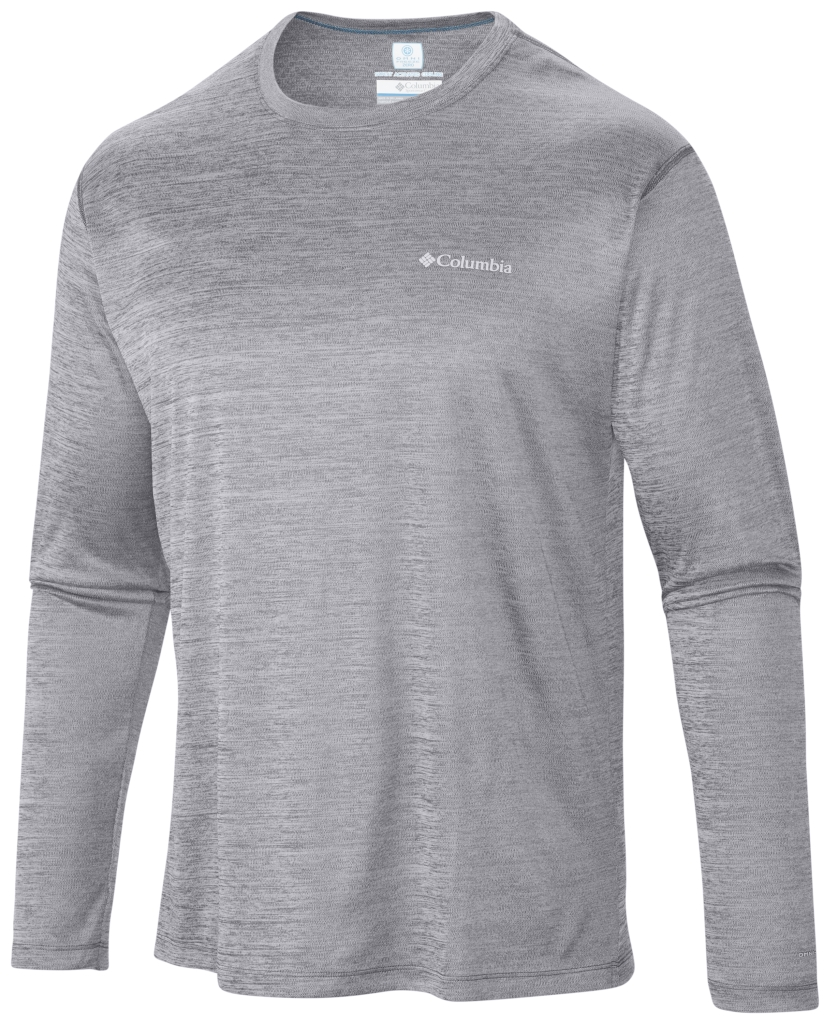 Columbia Zero Rules Long Sleeve Shirt Columbia Grey Heather-30