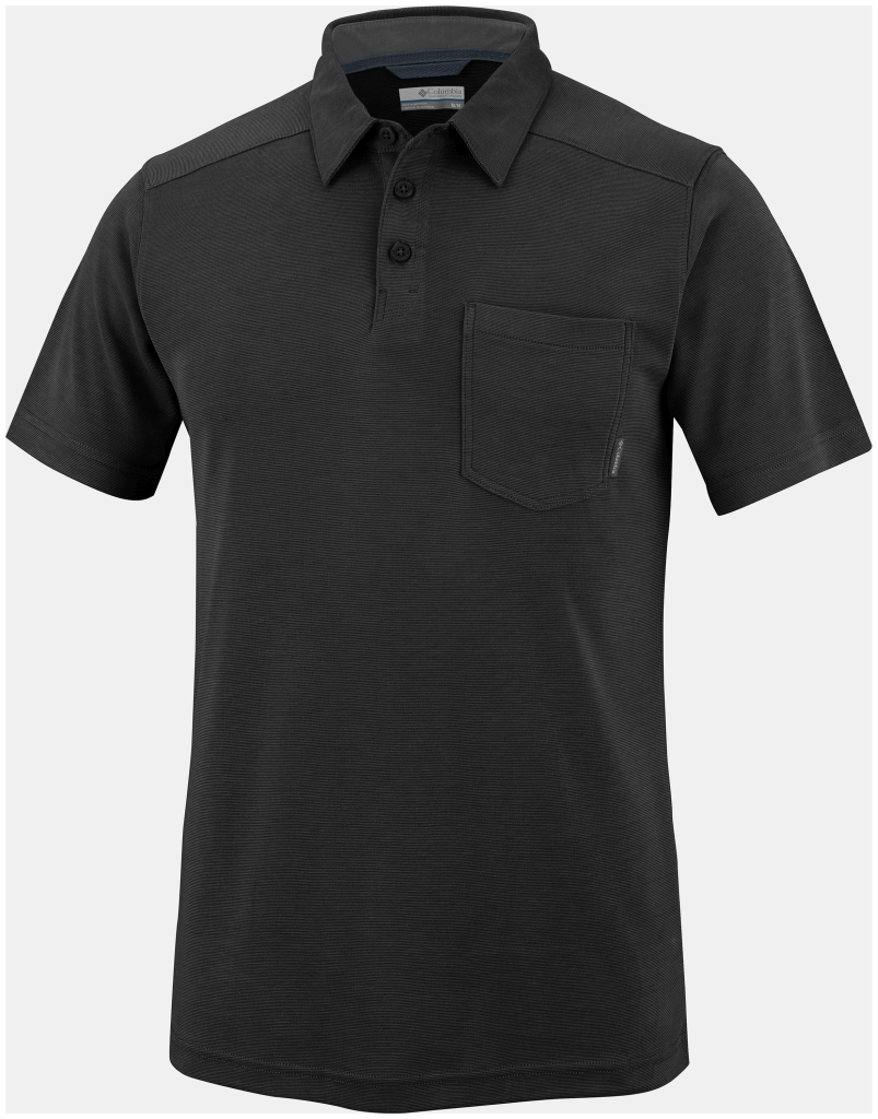 Columbia Sun Ridge II Novelty Polo Black-30