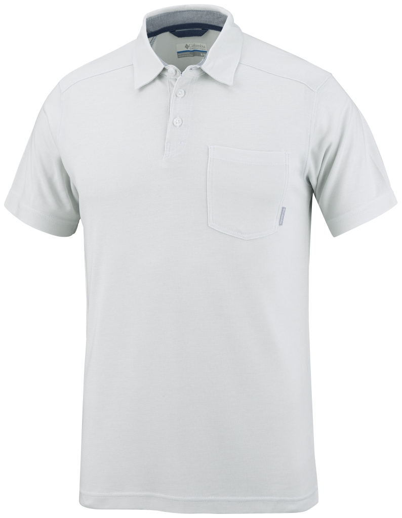 Columbia Sun Ridge II Novelty Polo White-30