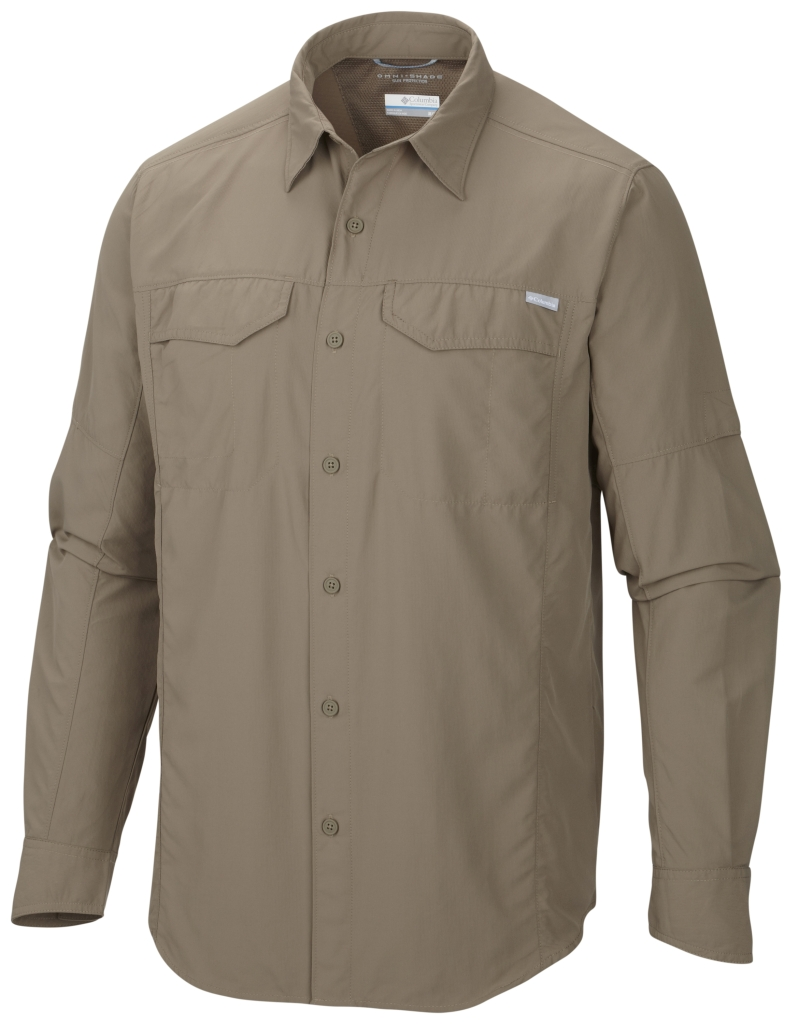 Columbia Men'S Silver Ridge Long Sleeve Shirt Wet Sand-30