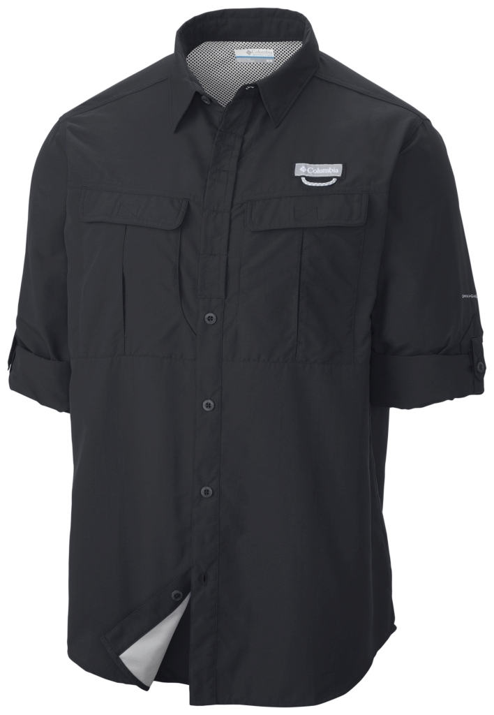 Columbia Cascades Explorer Long Sleeve Shirt Black-30