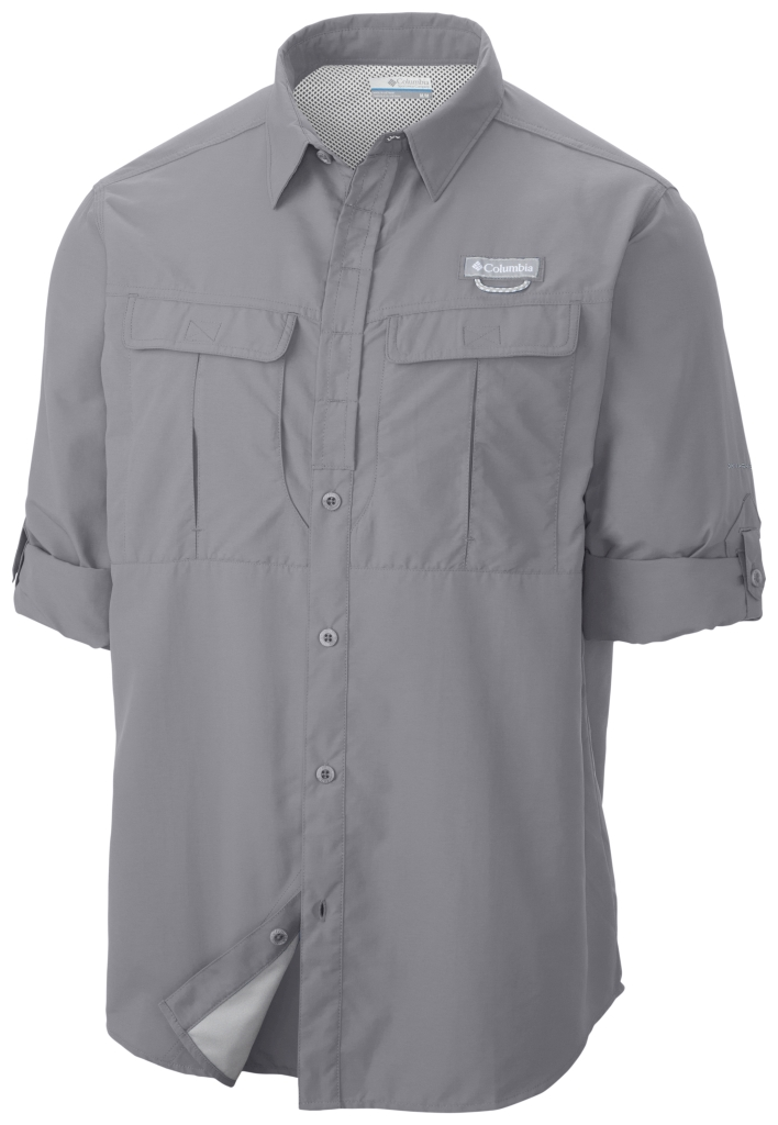 Columbia Cascades Explorer Long Sleeve Shirt Columbia Grey-30