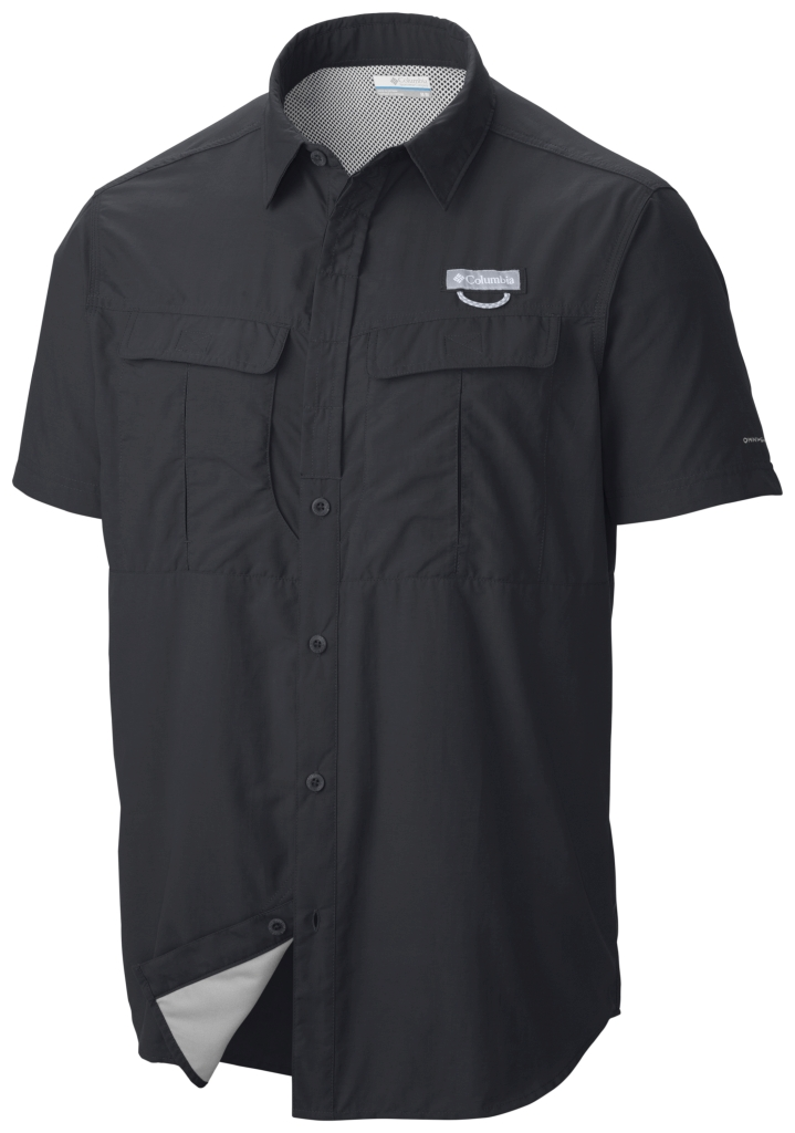 Columbia Cascades Explorer Short Sleeve Shirt Black-30
