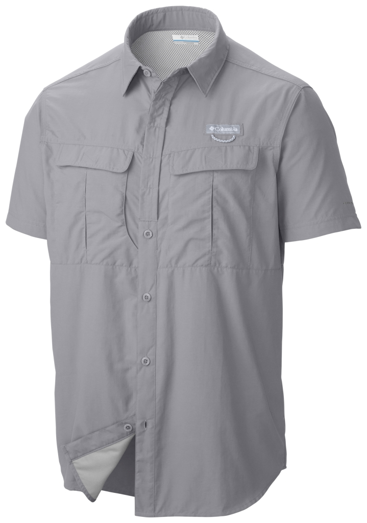Columbia Cascades Explorer Short Sleeve Shirt Columbia Grey-30