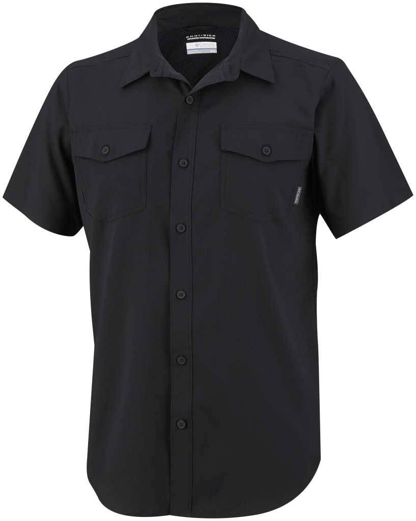 Columbia Utilizer II Solid Short Sleeve Shirt Black-30