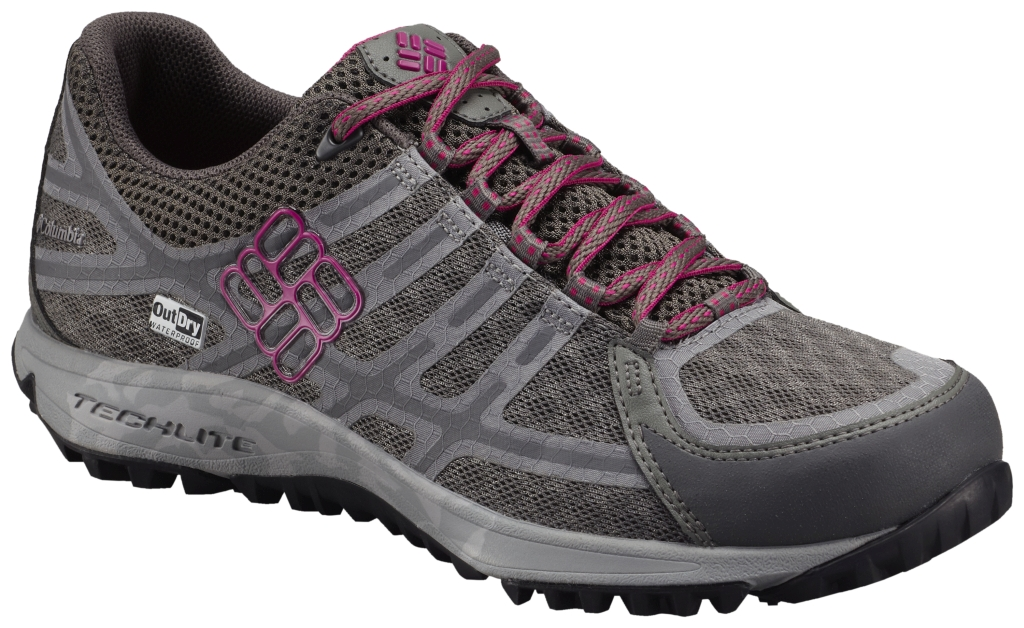 Columbia Women's Conspiracy III Outdry Multi-Sport Shoe Charcoal Fuchsia-30