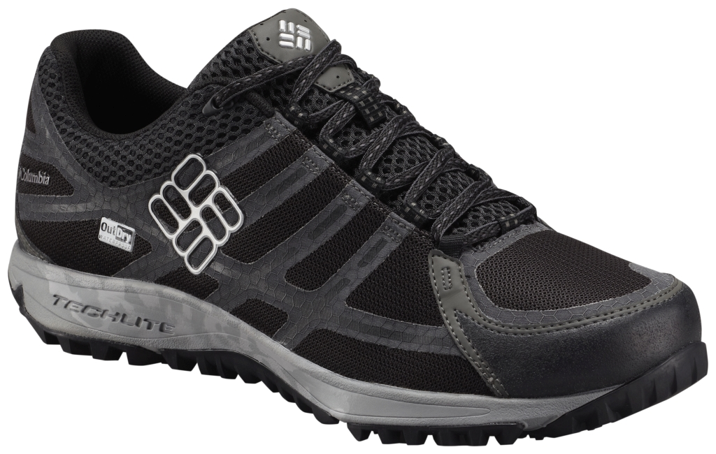 Columbia Men's Conspiracy III Outdry Waterproof Shoe Black Lux-30
