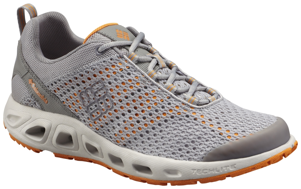 Columbia Drainmaker III Columbia Grey, Orange Blast-30