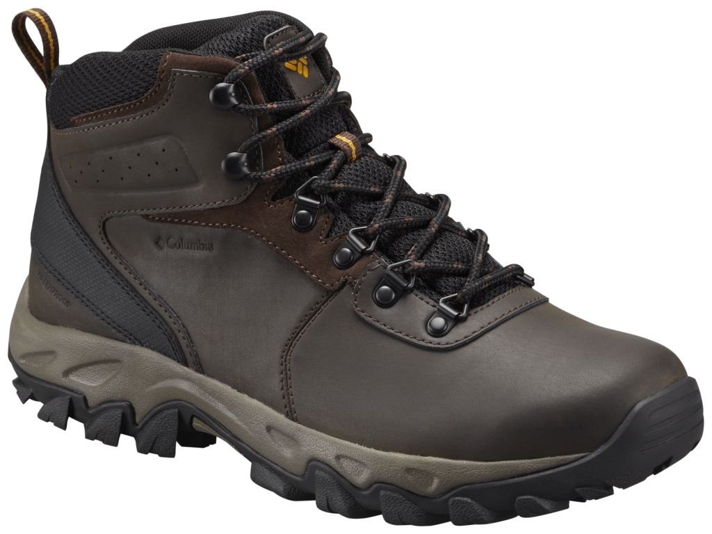 Columbia Newton Ridge Plus II Waterproof Cordovan, Squash-30