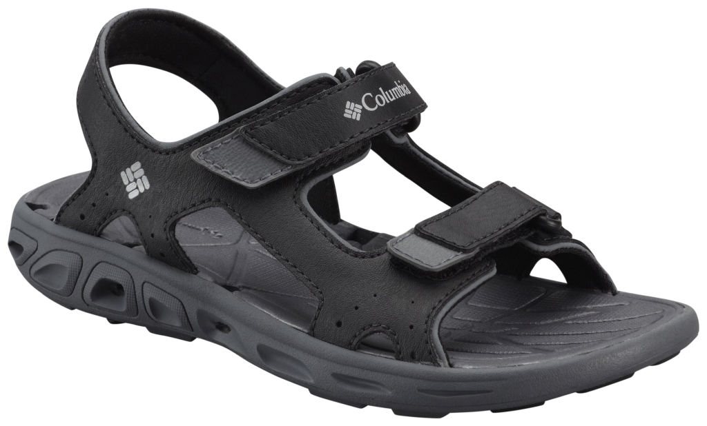 Columbia Youth Techsun Vent Black, Columbia Grey-30